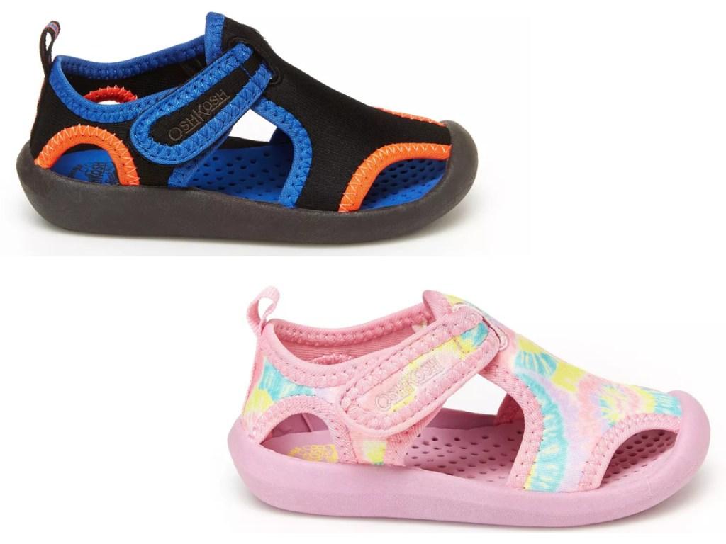 boys and girls osh kosh water shoes