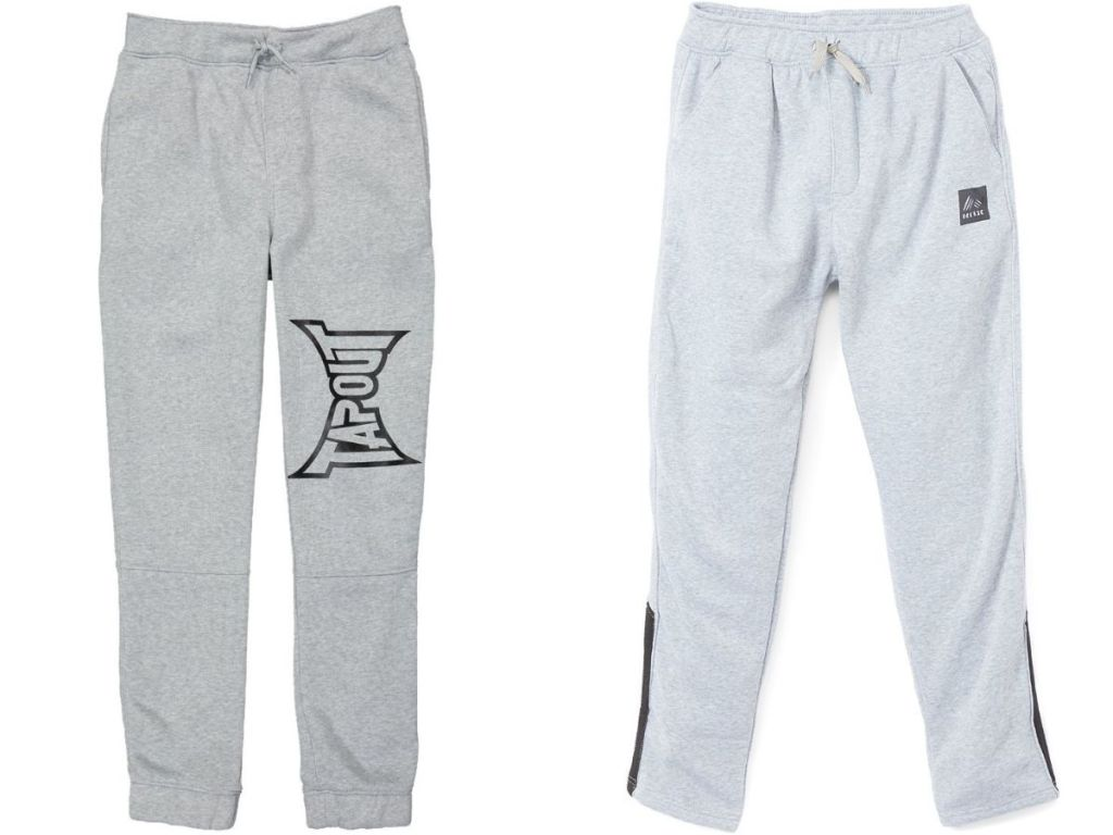 Tapout and RBX gray joggers
