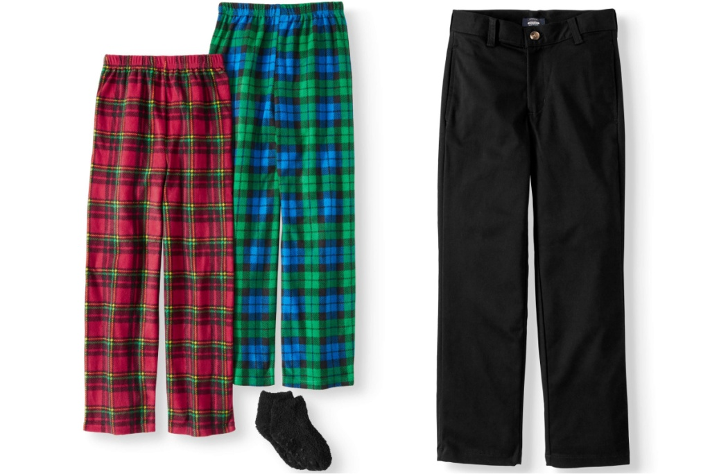 boys pants sleep pants and uniform pants
