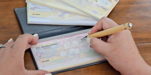 Personalized Checks Just $6.99 Shipped + FREE Address Labels from Checks Unlimited