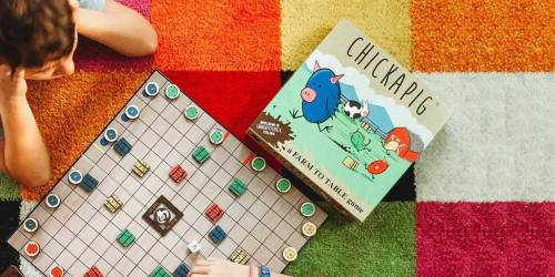 Chickapig Board Game Just $9.88 on Amazon (Regularly $25)
