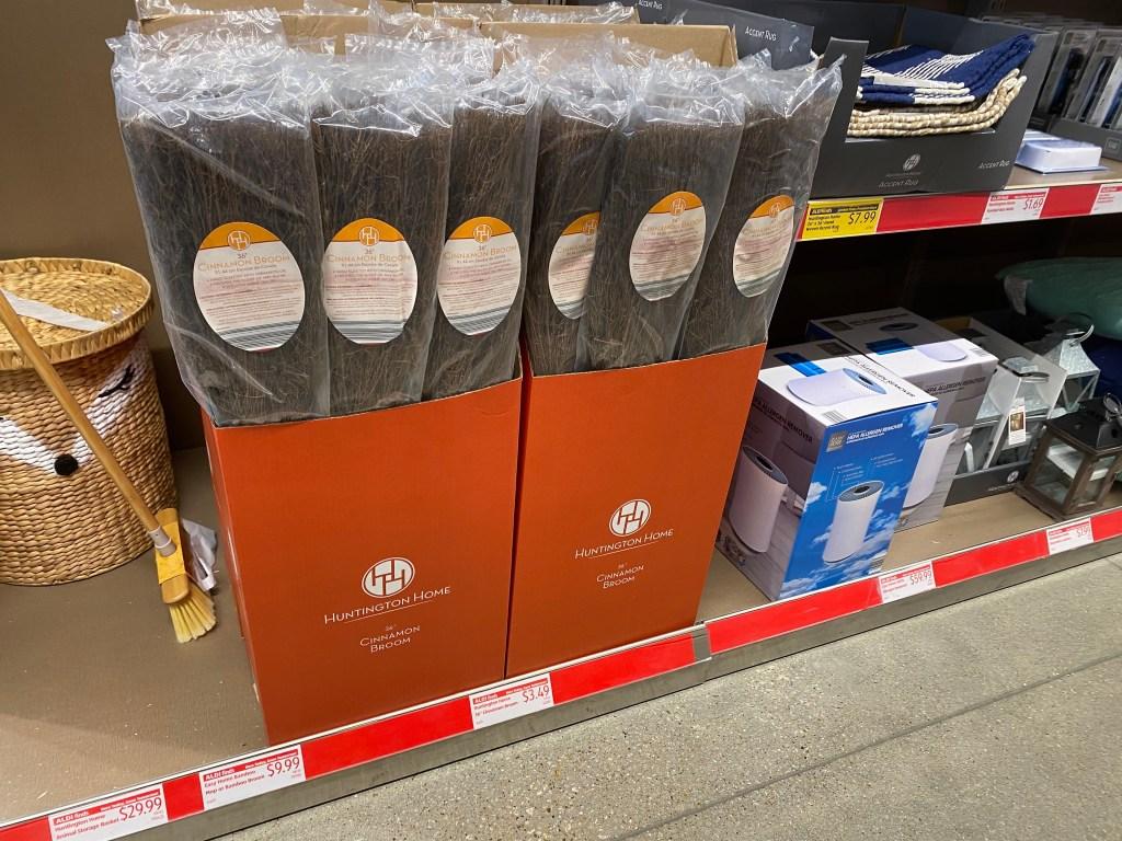 cinnamon broom at ALDI