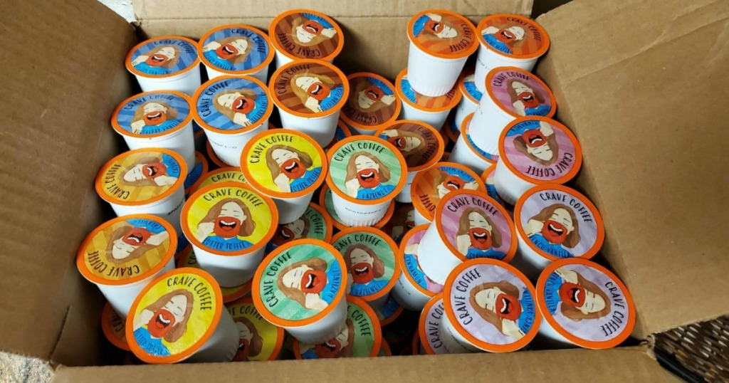 crave coffee k-cups in a box