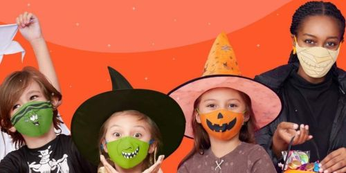 Up to 40% Off Crayola Kids Face Masks on Amazon | Includes Halloween Styles