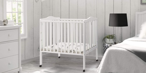 Portable Mini Folding Crib w/ Mattress Just $86 Shipped on Amazon (Regularly $136)