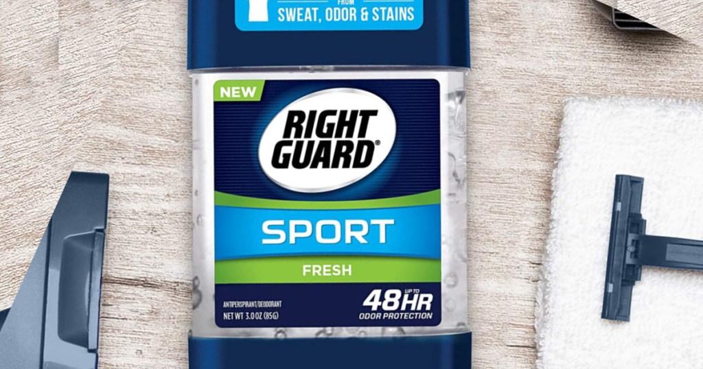 mens right guard deodorant