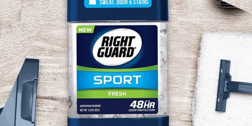 Right Guard Deodorant 6-Pack Only $8.55 Shipped on Amazon | Just $1.42 Each