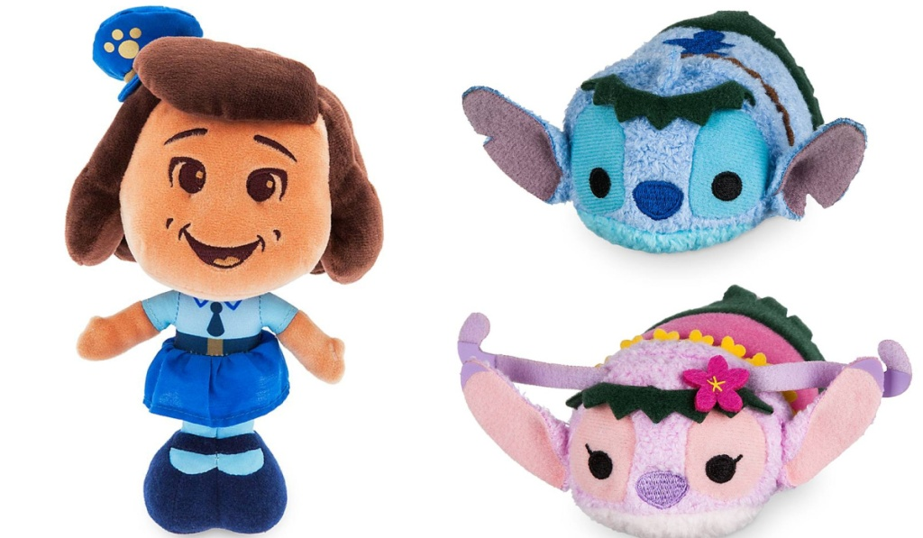 disney plush toy story 4 and lilo and stitch