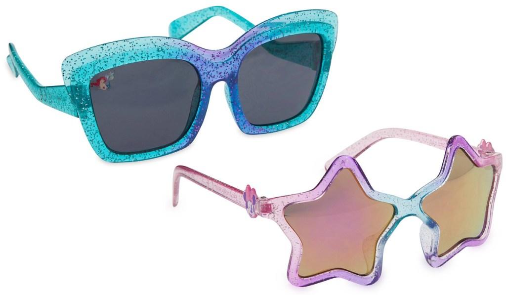 disney sunglasses mermaid and minnie mouse