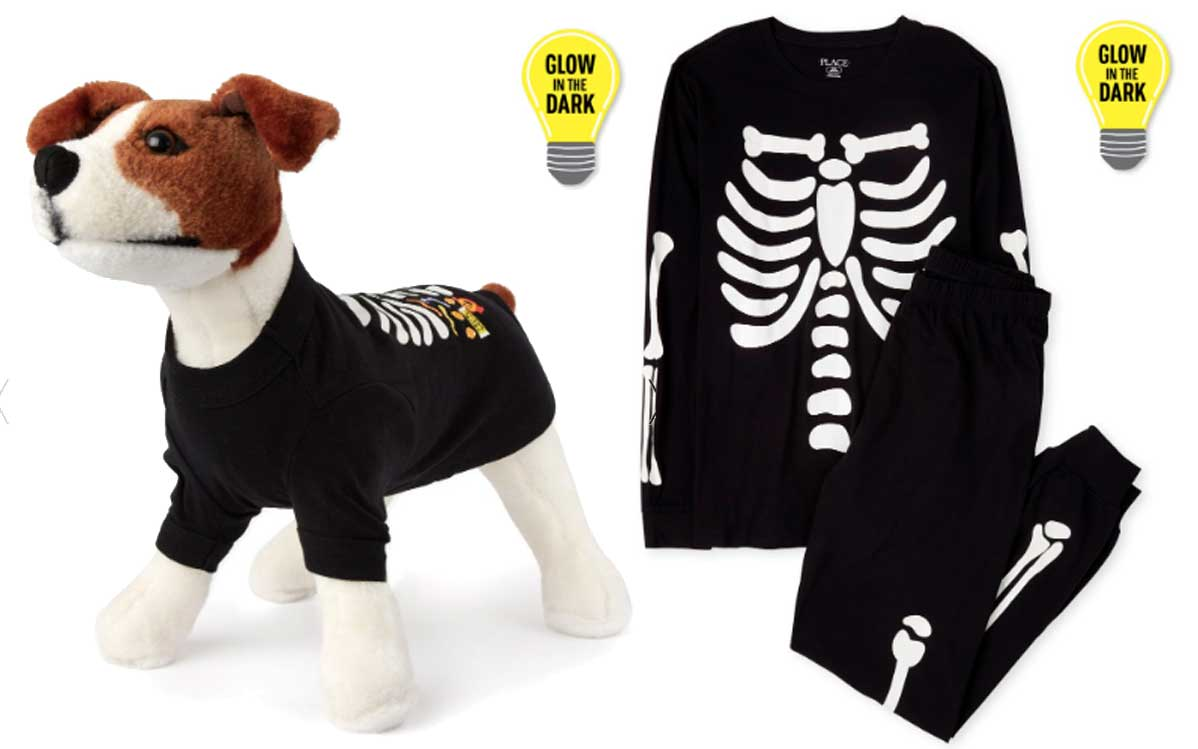 halloween pajamas for dog and family
