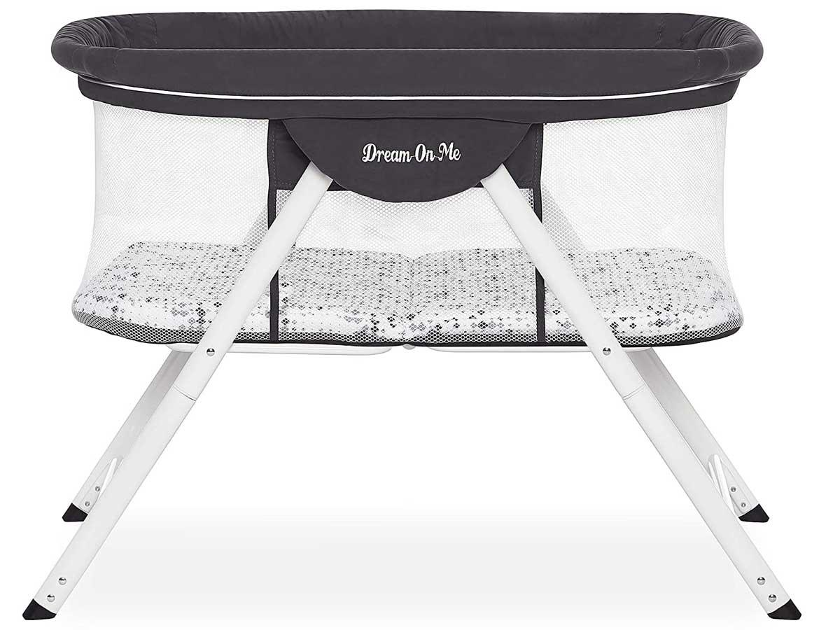 baby bassinet stock image