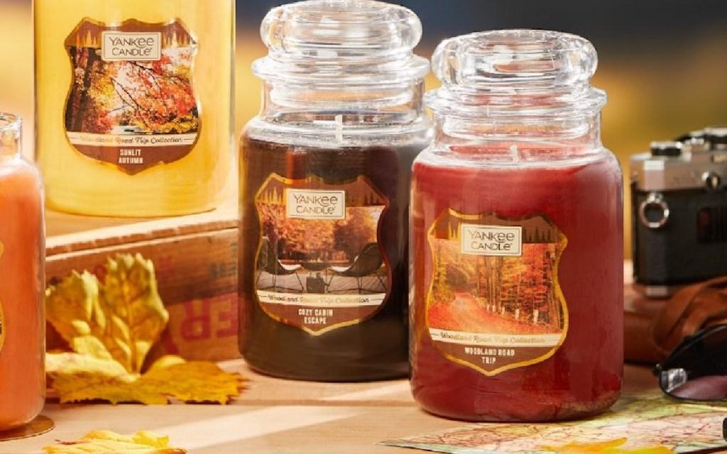 fall yankee candles