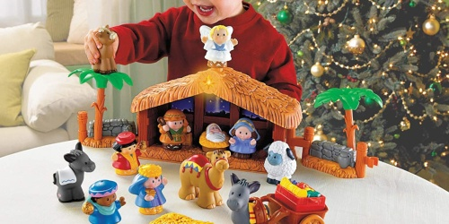 Fisher-Price Little People Deluxe Nativity Set Only $25 Shipped on Amazon | Star Lights Up & Music Plays