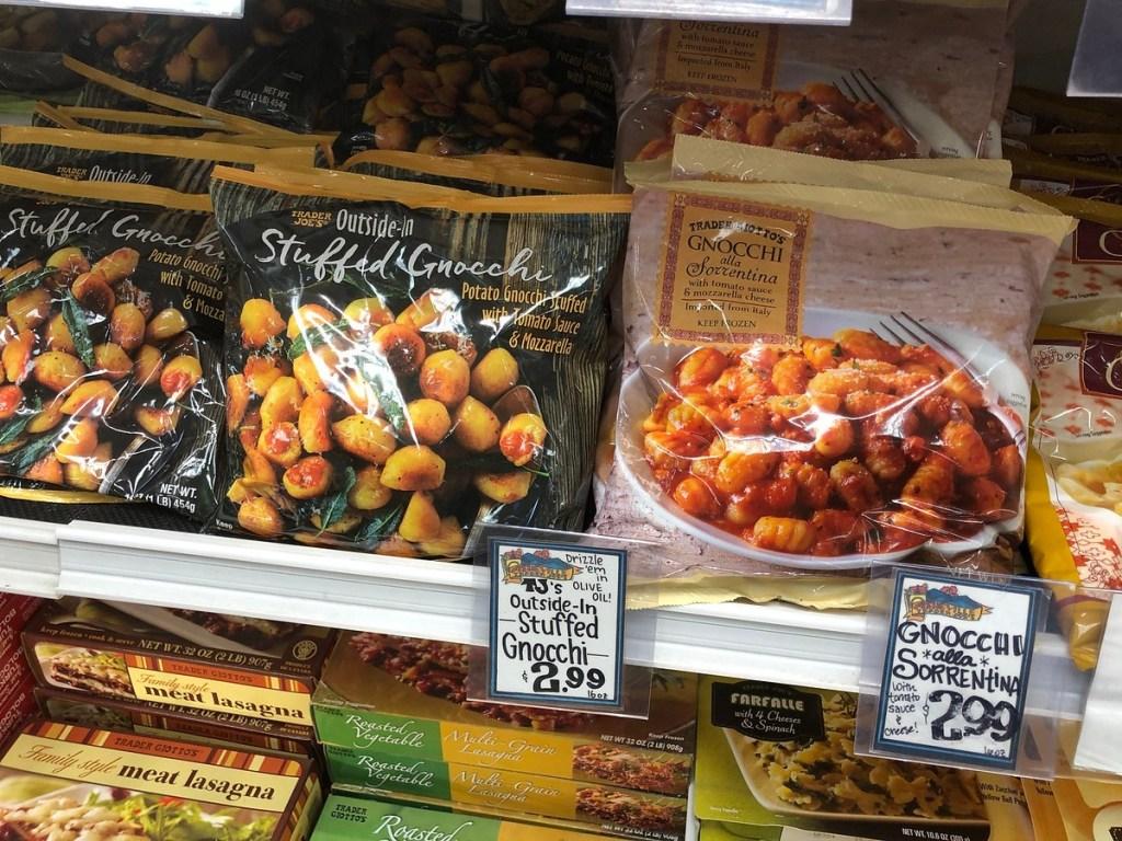 frozen gnocchi at Trader Joe's