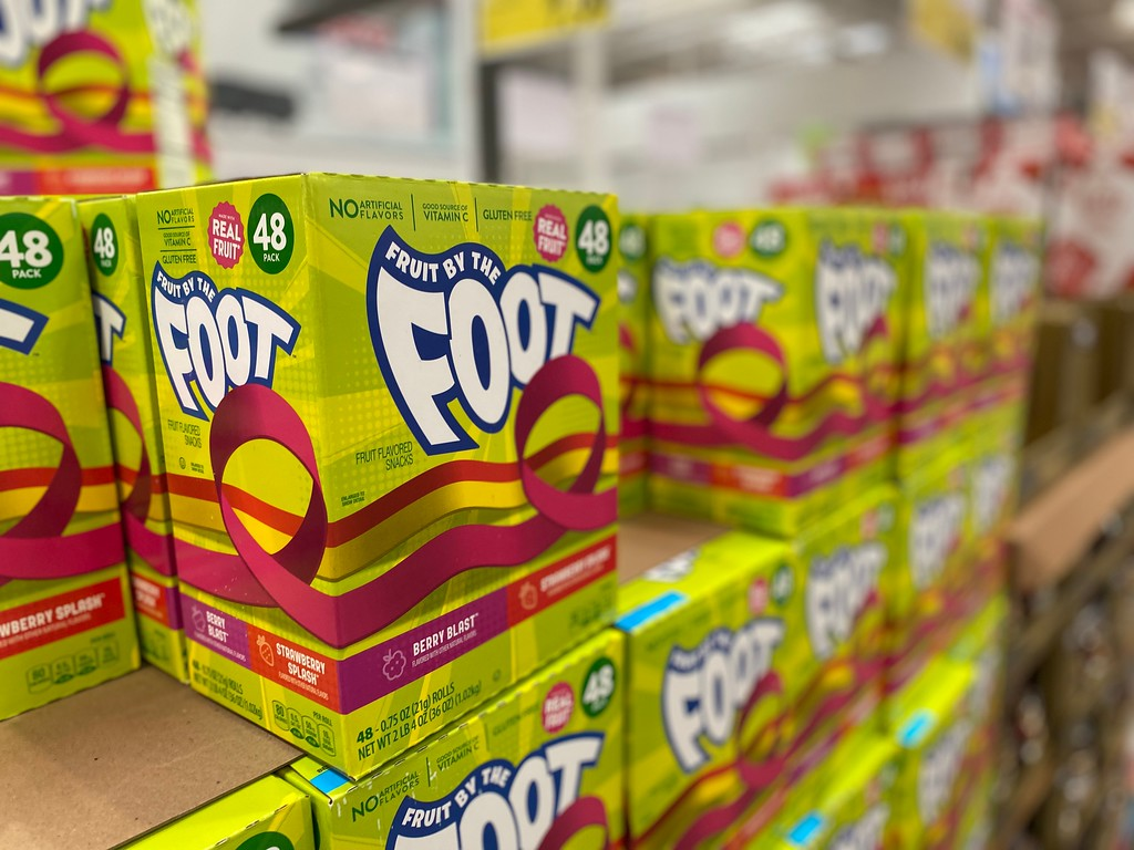 fruite by the foot many packs at costco