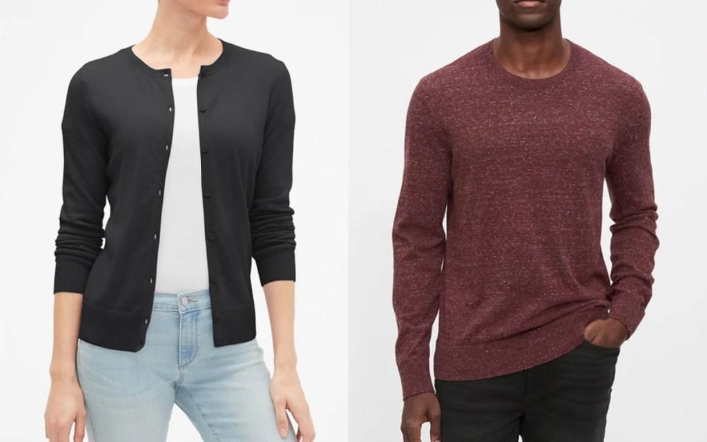 men and womens gap sweaters