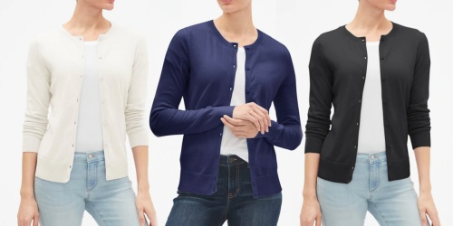 $109 Worth of GAP Apparel Just $43 Shipped | Easy Layered Looks for Fall