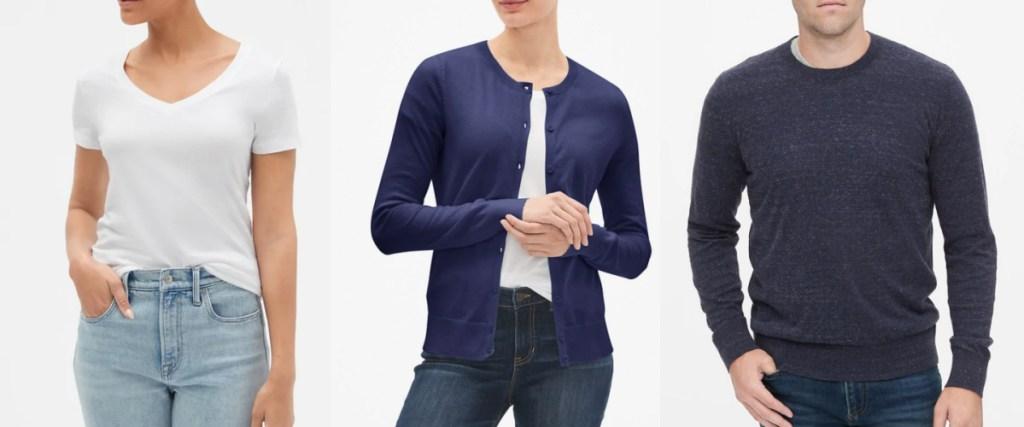 gap apparel for men and women
