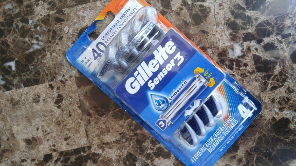 Gillette Disposable Razor Packs from $2.67 Shipped on Amazon (Regularly $6)