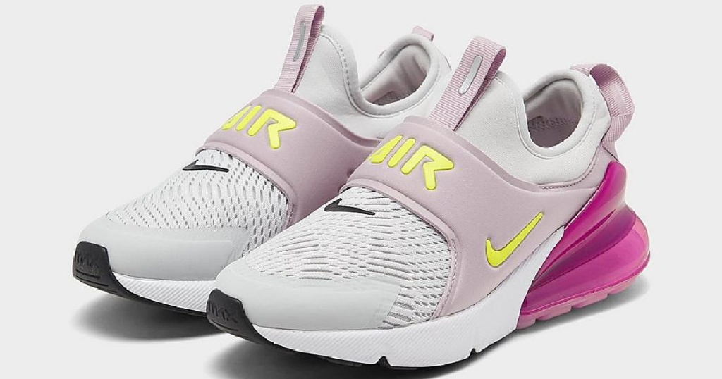pink girls nike air max shoes