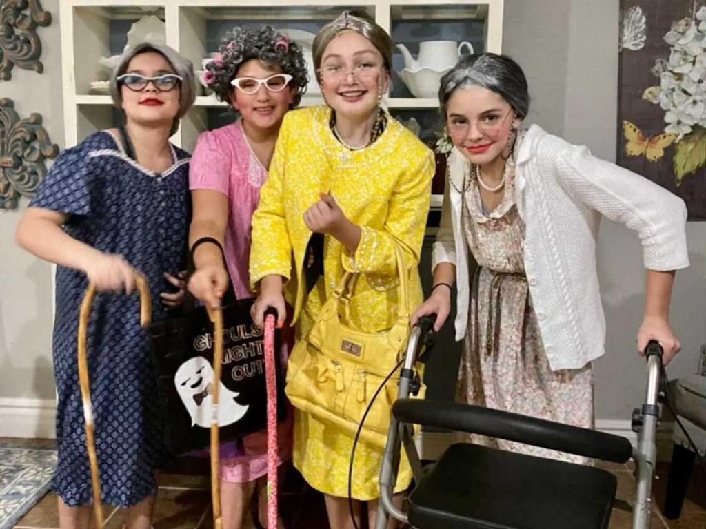 golden girls diy costume