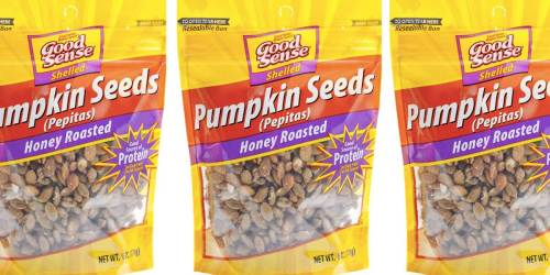 Good Sense Pumpkin Seeds Only $2.57 Shipped on Amazon | Great on Salads, Oatmeal + More