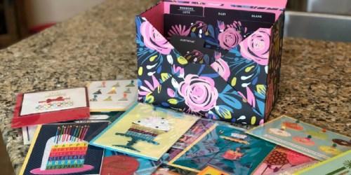$120 Worth of Hallmark Handmade Cards & Storage Box Only $24.84 on Amazon
