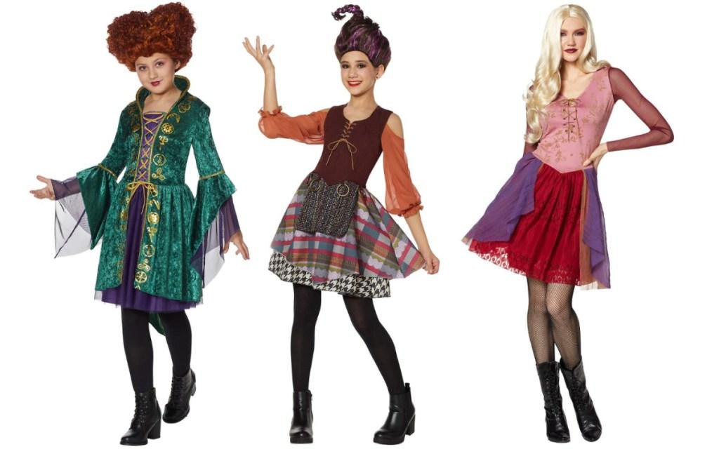 halloween costumes sanderson sisters