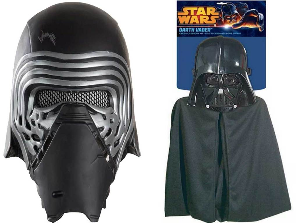 star wars darth vader mask and cape