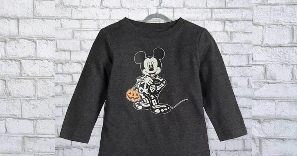 mickey mouse halloween shirts