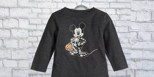 Toddler Halloween Tees from $4 + Free Shipping for Kohl's Cardholders | Disney, Glow-in-the-Dark & More