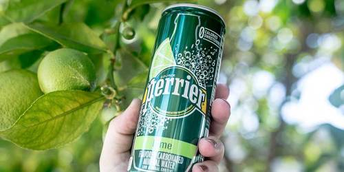 Perrier Mineral Water Cans 30-Count Just $9.52 Shipped on Amazon | Only 32¢ Per Can