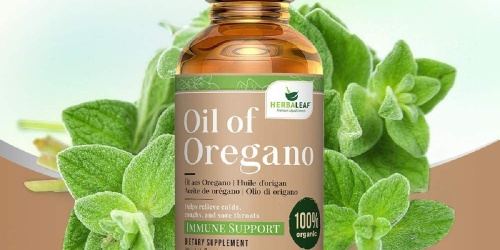 50% Off HerbaLeaf Oil of Oregano on Amazon | Immune Support