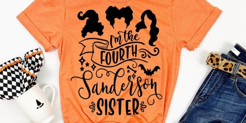 Hocus Pocus Halloween Tees Only $17.99 Shipped | 4 Spook-tacular Designs