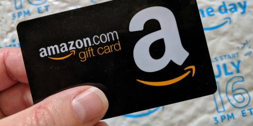 HURRY! Free $10 Amazon Credit w/ $40+ Gift Card Purchase for Prime Members Ends Tonight