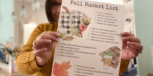 Make This the Best Fall Ever with Our FREE Fall Bucket List Printable!