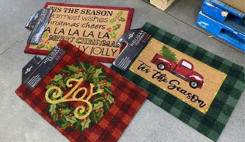 holiday doormats at sams club