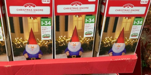 Holiday Inflatables Only $14.98 at Walmart | Includes Sharks, Gnomes & Other Fun Designs