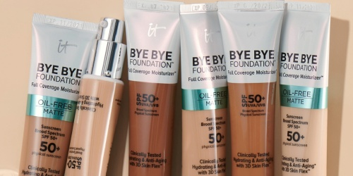 50% Off Highly Rated IT Cosmetics Bye Bye Foundation Moisturizer on ULTA.com