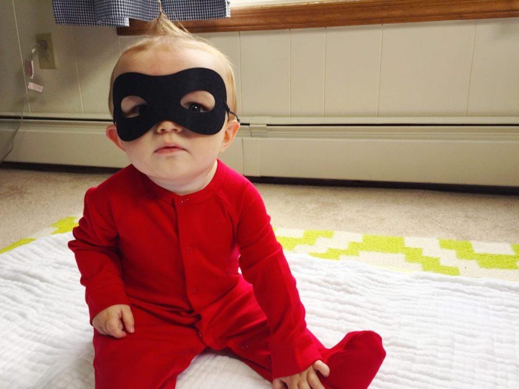 Incredibles Jack Jack DIY Costume