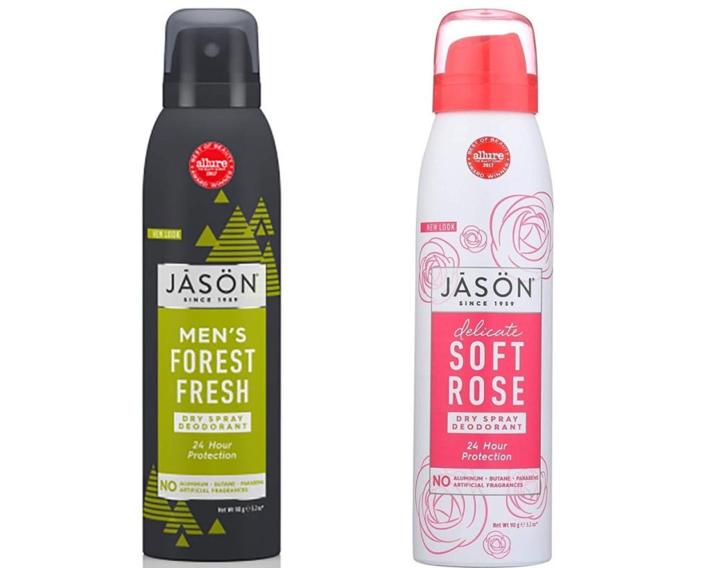 jason spray deodorant for men and women