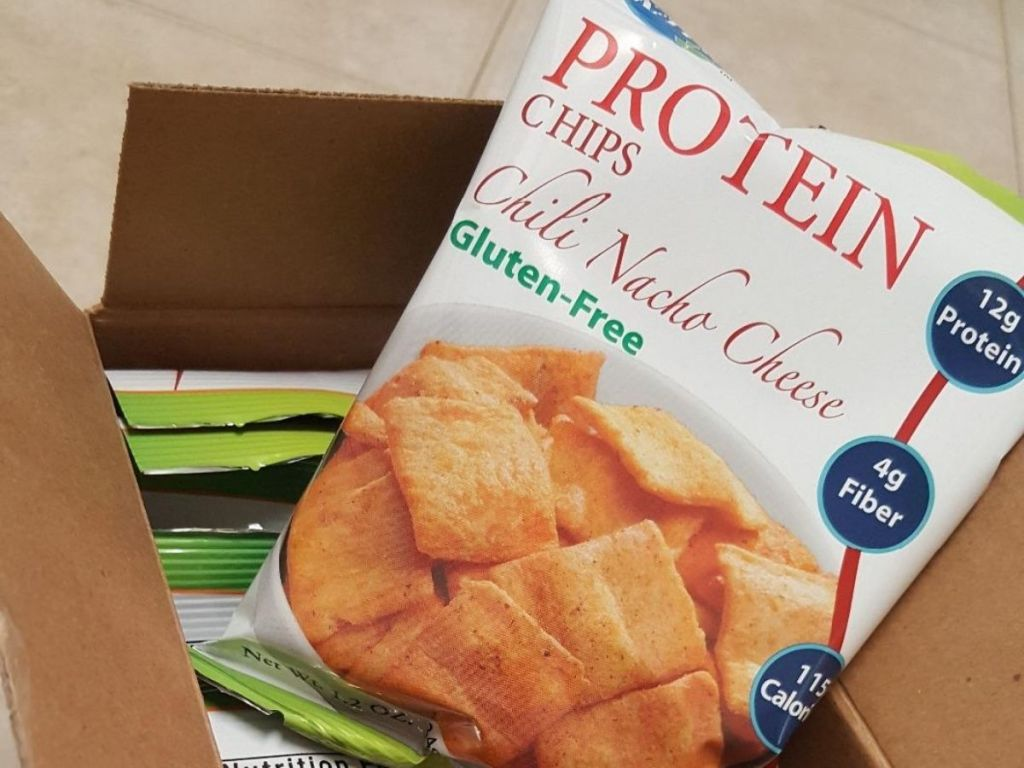 Kay's Naturals Protein Chips in box