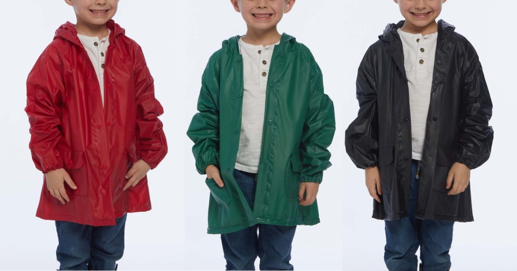 kids raincoat many colors on zulily
