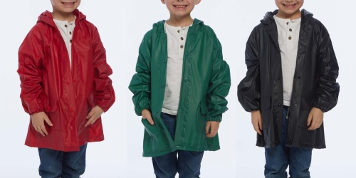 Kids Rain Coats, Umbrellas, Boots & More from $6.99 on Zulily (Regularly $20+)