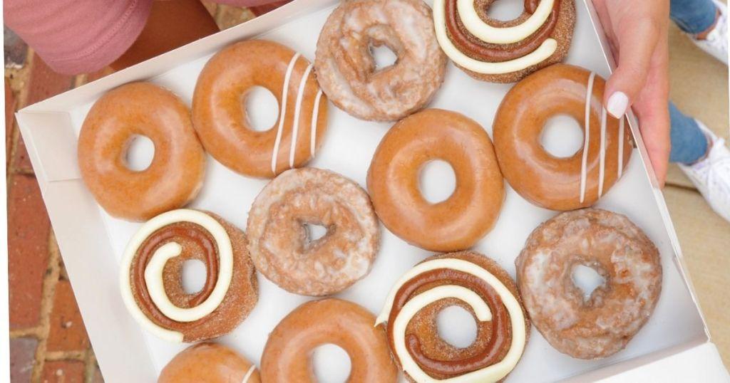 krispy kreme pumpkin donuts