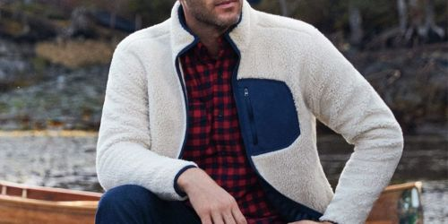 Up to 75% Off Lands' End Men's Outwear | Jackets, Sweaters & More