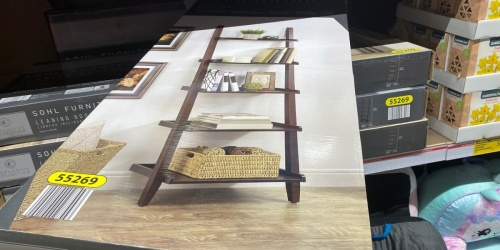This Leaning Bookshelf at ALDI is $93 Less Than Target's Version