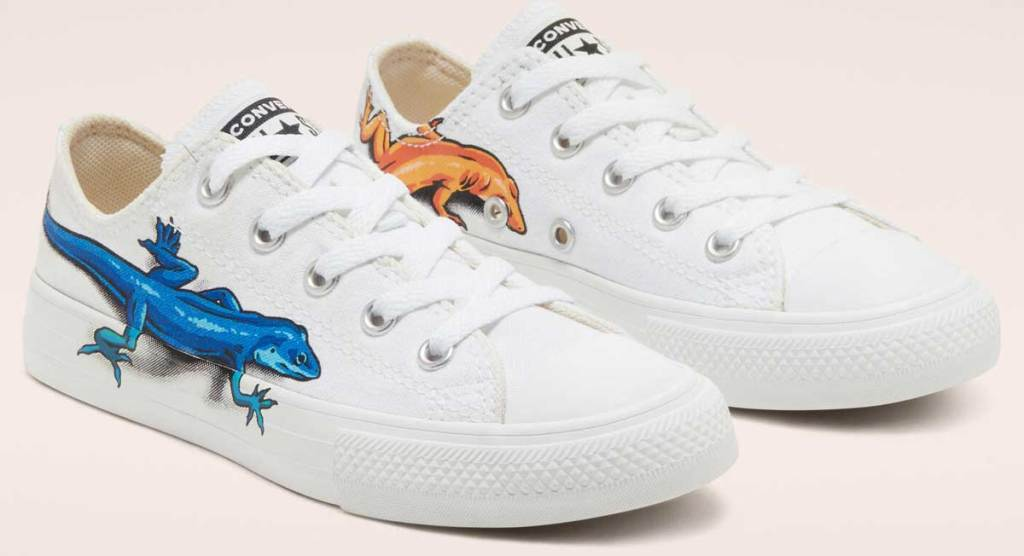 leapin lizard converse shoes
