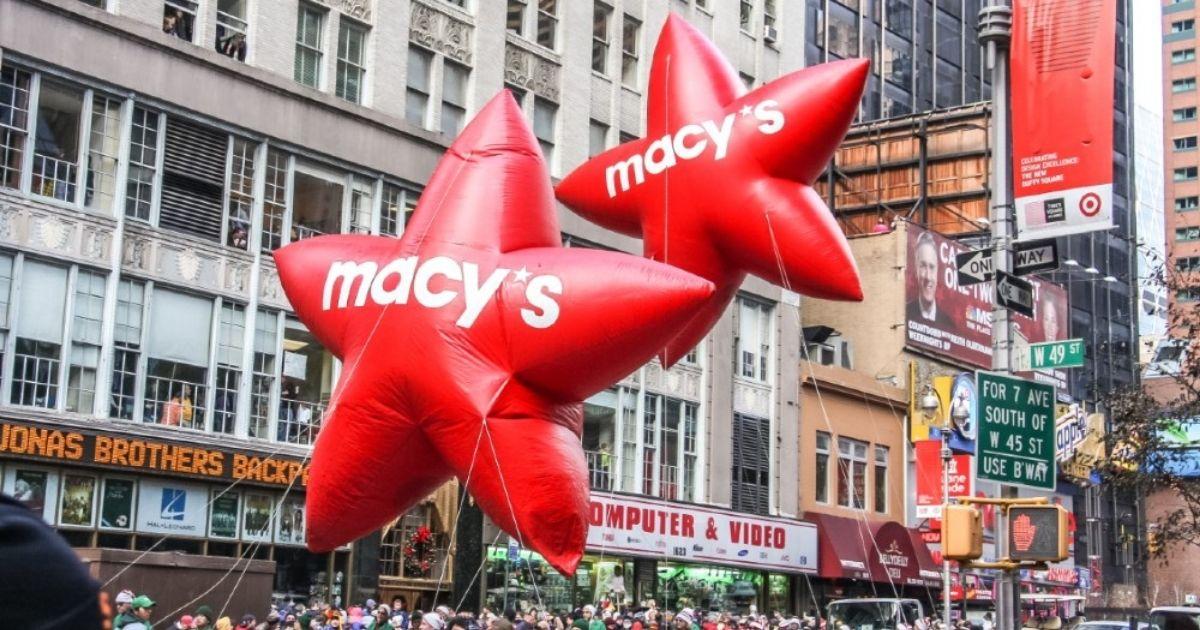 Macy's Thanksgiving Day Parade star ballons