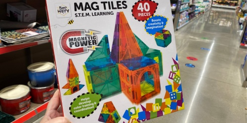 Magnet Tiles 40-Piece Set Just $17.99 at ALDI & More Great Gifts for Kids